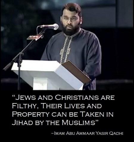 Islamic Jihad Preacher Imam Abu Ammar Yasir Qadhi
